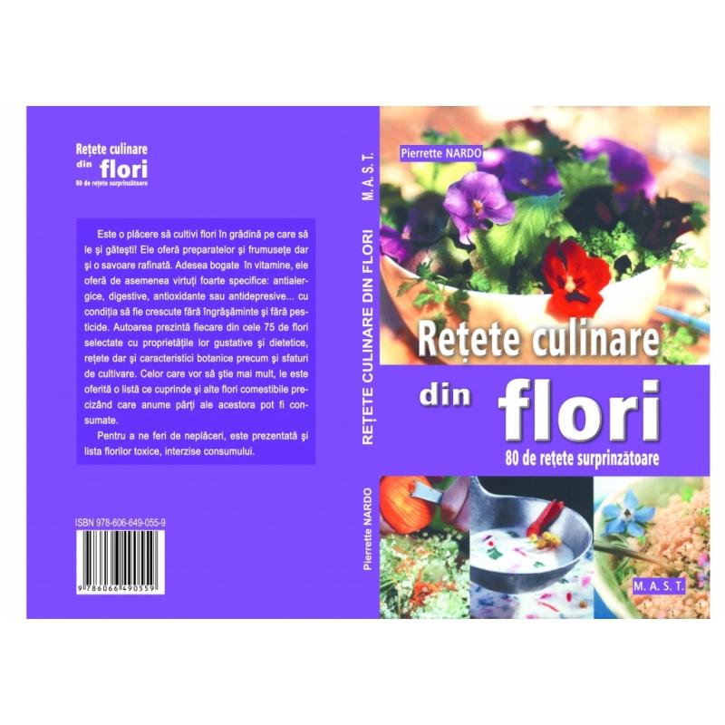 Retete culinare din flori 1