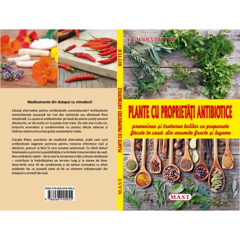 Plante cu proprietati antibiotice. 1
