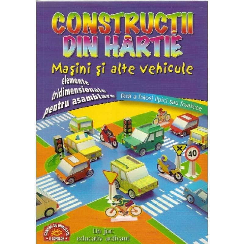 Constructii din hartie. Masini si alte vehicule 1