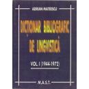 Dictionar bibliografic de lingvistica 1