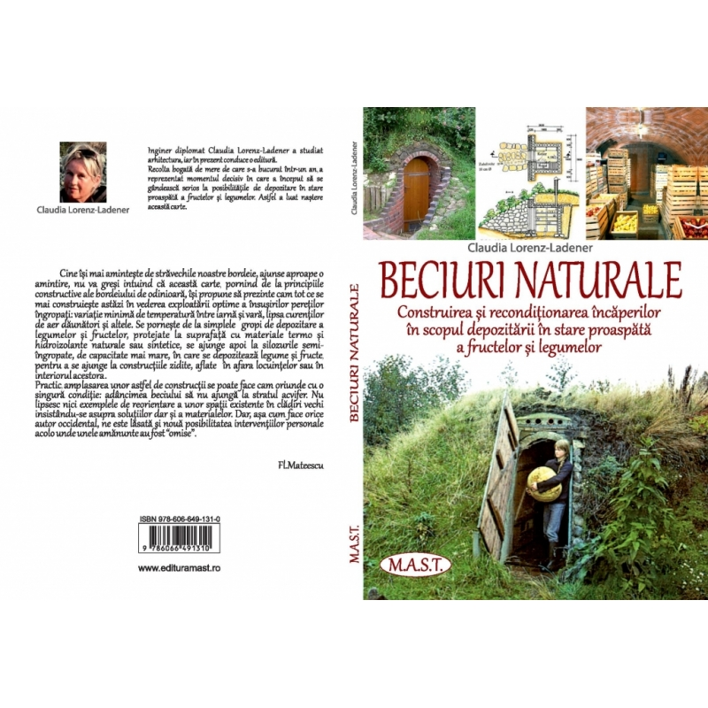 BECIURI NATURALE. Construirea si reconditionarea incaperilor in scopul depozitarii in stare proaspata a fructelor si legumelor. 1