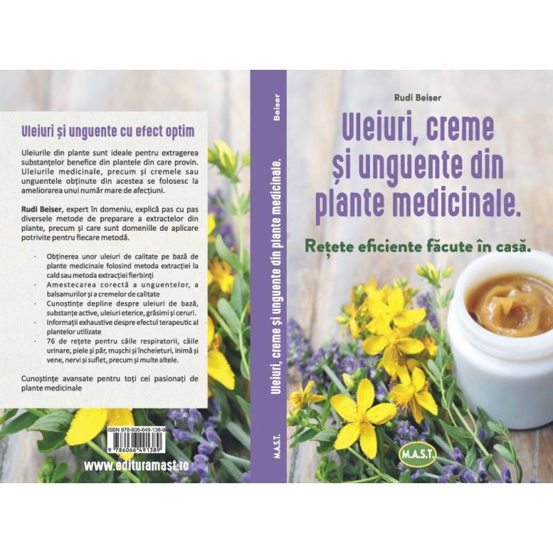 Uleiuri,creme si unguente din plante medicinale 1